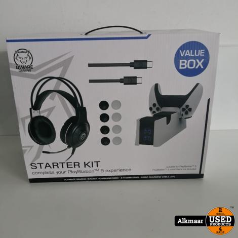 Qware Playstation 5 starterkit | NIEUW in doos