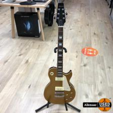 Aria Pro II Les Paul Gold elektrische gitaar   Nette staat!
