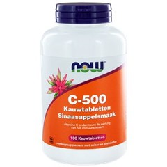 Now Vit C 500Mg Kauwtabletten (100Kt) VNW2160