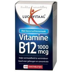 Lucovitaal Vit B12 1000Mcg (60Tab) VLL2107