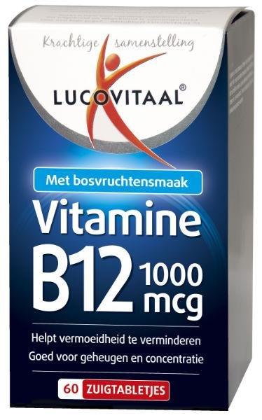 Lucovitaal Lucovitaal Vit B12 1000Mcg (60Tab) VLL2107