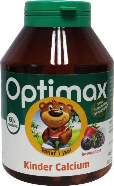 Optimax Optimax Kinder Calcium (60Kt) VOX2519