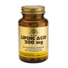 Solgar Alpha Lipoic Acid 200Mg Vc 0058 (50St) VSR2021