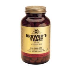 Solgar Brewers Yeast Biergist Tab 0400 (250St) VSR2049