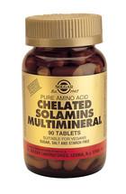 Solgar Solgar Chelated Solamins Multimineral Tab 0780 (90St) VSR2081