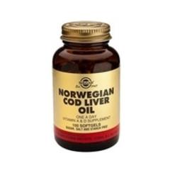 Solgar Cod Liver Oil (Norwegian) Sft 0940 (100St) VSR2092