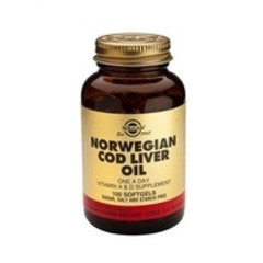 Solgar Cod Liver Oil (Norwegian) Sft 0941 (250St) VSR2093