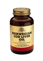 Solgar Solgar Cod Liver Oil (Norwegian) Sft 0941 (250St) VSR2093