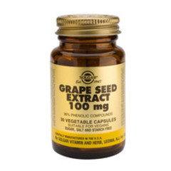Solgar Grape Seed Extract 100Mg Vc 1355 (30St) VSR2181