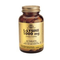 Solgar L-Lysine 1000Mg Tab 1702 (250St) VSR2213