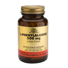 Solgar L-Phenylalanine 500Mg Vc 2200 (50St) VSR2217
