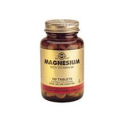 Solgar Magnesium With Vitamin B6 Tab 1720 (100St) VSR2227
