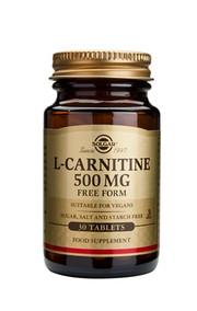 Solgar Solgar L-Carnitine Tab 500Mg 0570 (30St) VSR2232