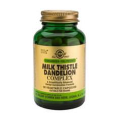 Solgar Milk Thistle/Dandelion Complex Vc 4172 (50St) VSR2244