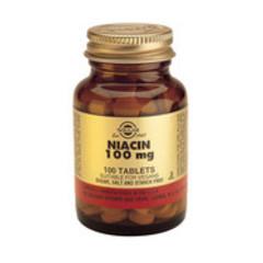 Solgar Niacin 100Mg (Vit B3) Tab 1860 (100St) VSR2254