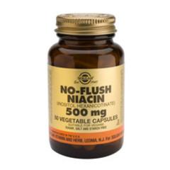 Solgar No Flush Niacin 500Mg (Vit B3) Vc 1910 (50St) VSR2256
