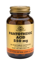 Solgar Solgar Pantothenic Acid 550Mg (Vit B5) Vc 2170 (50St) VSR2274