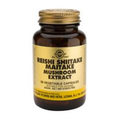 Solgar Reishi Shiitake Maitake Extract Vc 2327 (50St) VSR2289