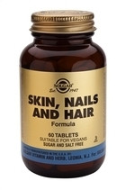 Solgar Solgar Skin Nail And Hair Formula Tab 1736 (120St) VSR2306