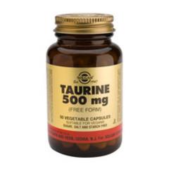 Solgar Taurine 500Mg Vc 2700 (50St) VSR2319