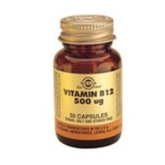 Solgar Vitamin B12 500Ug Vc 3209 (50St) VSR2338