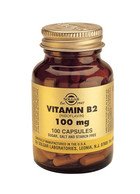Solgar Solgar Vitamin B2 100Mg Vc 3050 (100St) VSR2339