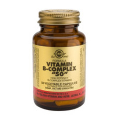 Solgar Vitamin B-Complex 50 Vc 1120 (50St) VSR2345
