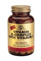 Solgar Solgar Vitamin B-Complex With Vitamin C Tab 0200 (100St) VSR2348