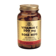 Solgar Vitamin C 500Mg + Rose Hip Tab 2380 (100St) VSR2358