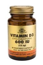 Solgar Solgar Vitamin D3 15Ug/600Iu Vc 3318 (60St) VSR2360