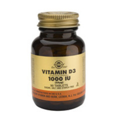 Solgar Vitamin D3 25Ug/1000Iu Tab 3310 (90St) VSR2364