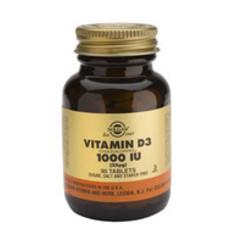 Solgar Vitamin D3 25Ug/1000Iu Tab 3311 (180St) VSR2365