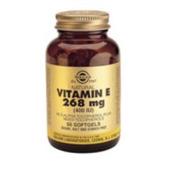 Solgar Vitamin E 268Mg/400Iu Complex Sft 3541 (100St) VSR2373