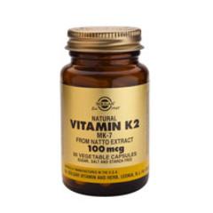 Solgar Vitamin K2 100Mcg (Mk-7) Vc 3603 (50St) VSR2383