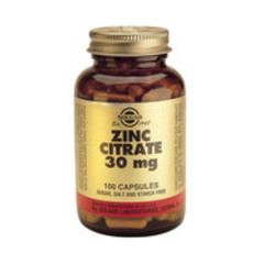 Solgar Zinc Citrate 30Mg Vc 3670 (100St) VSR2389