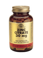 Solgar Solgar Zinc Citrate 30Mg Vc 3670 (100St) VSR2389