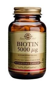 Solgar Solgar Biotin 5000Ug Vc 0314 (100St) VSR2402