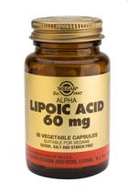 Solgar Solgar Alpha Lipoic Acid 60Mg Vc 0055 (30St) VSR2019