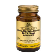 Solgar Echinacea/Golden Seal/Cats Claw Complex Vc 3869 (60St) VSR2118