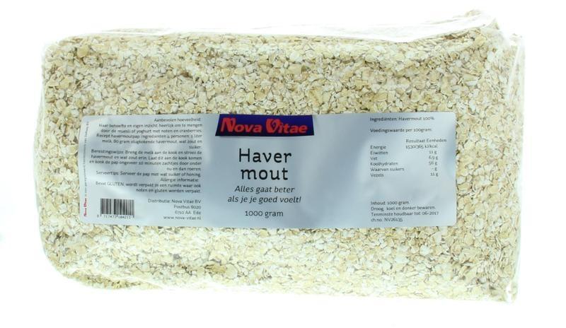 Nova Vitae Nova Vitae Havermout (1 kilogram)