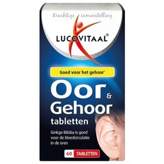 Lucovitaal Oor en gehoor tabletten (60 tabletten)