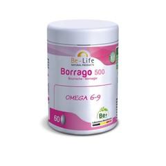Be-Life Borrago 500 bio (60 capsules)