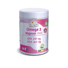 Be-Life Omega 3 magnum 1400 (90 capsules)