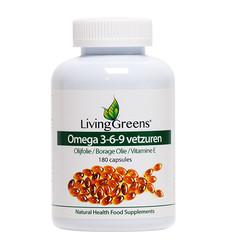 Livinggreens Omega 3 6 9 complex (180 capsules)