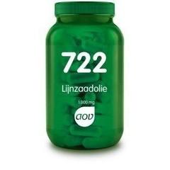 AOV 722 Lijnzaadolie 1000 mg (90 capsules)