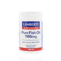 Lamberts Pure visolie 1100 mg omega 3 (60 capsules)