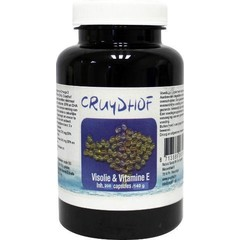 Cruydhof Visolie 500 mg met vit e (200 capsules)