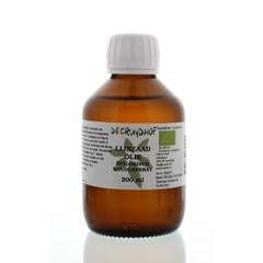 Cruydhof Lijnzaadolie koudgeperst bio (200 ml)