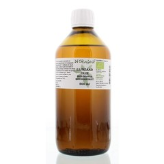 Cruydhof Lijnzaadolie koudgeperst bio (500 ml)