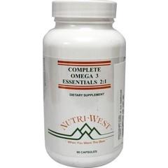 Nutri West Complete omega 3 essential (90 capsules)